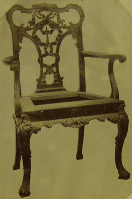 Armchair; Shapland and Petter HLF; 5646