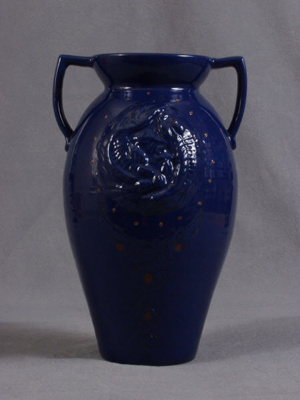 Urn-Shaped Vase; C H Brannam Ltd; 2006