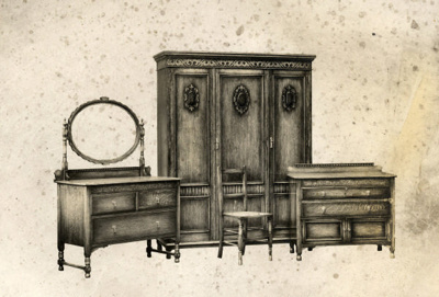 Bedroom Suite 5055; Shapland and Petter HLF; 174