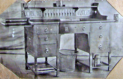 Desk 1550; Shapland and Petter HLF; 2129