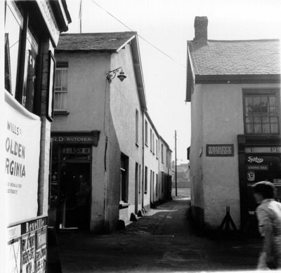 Junction of Trinity Street and Hardaway Head, Barnstaple; 1960-1964; 648