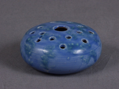 Powder blue vase; 1992