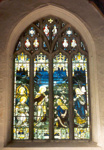 Stained Glass Window at Pilton; Nigel Rushbrook; 1999-2001; 16230