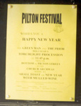 Poster at Pilton; Nigel Rushbrook; 1999-2001; 16234