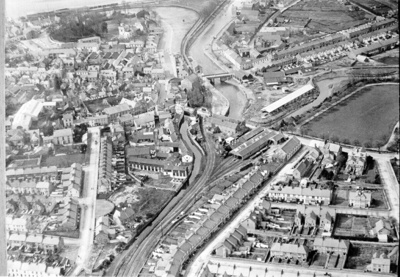 Aerial View, Barnstaple; Barnstaple Town Council; 378