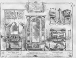 Bedroom Suite 213 (Drawing from Catalogue); Shapland and Petter HLF; 5785