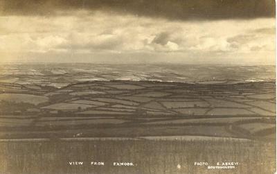 View over Exmoor; 6-6927