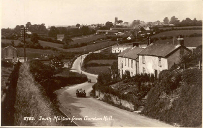 South Molton from Gordon Hill; 6-6934
