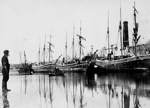 Ships Moored at Castle Quay, Barnstaple; 1850-1890; 159