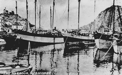 Ilfracombe Harbour; 453