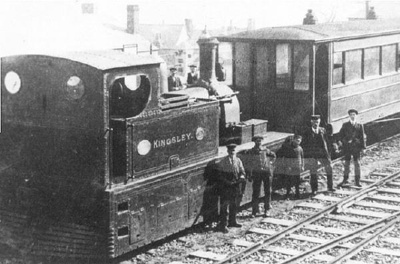"Locomotive ""Kingsley""; Photographer: Unknown; 349"