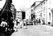 Early 1960s Chulmleigh Old Fair market in Fore Street; 1960-1962; 21-1117