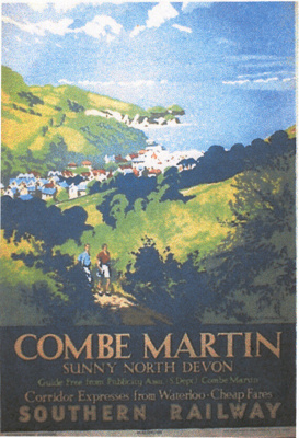 Poster Combe Martin; Unknown; 30