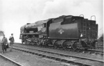 Steam Locomotive 34097 Holsworthy West Country class 4-6-2 after being rebuilt; 1961; 24-1190