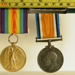British war service medal 1914-1918. George Crawley died 16th April 1918 aged 21; ilfcm.21006c