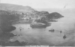 View from Hillsborough, Paddle Steamer leaving Ilfracombe; Photographer: Unknown; 70