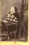 Portrait of an unknown child; Elizabeth Askew; 1895; 174