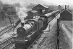 Steam locomotive on Devon Railway; 450