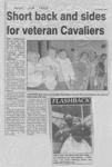 Short back and sides for veteran Cavaliers; The Gazette; 1995; 57