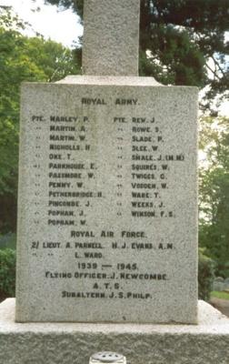 War Memorial; 2002; 1866