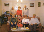 Some residents of Kings Arms Meadow Drive have a Christmas 'get-together'; 2001 December 2001; 5-11296