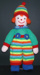 Knitted doll - Jean Greenhowe Buttons; 2006; KT.D.W/A 13