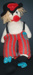 Knitted doll.; KT.D. W/A 17