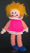 Knitted doll; 2000s; KT.D.W/A 9