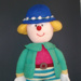 Knitted doll - Jean Greenhowe Bertie Bloomer; 2006; KT.D.W/A 11