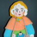 Knitted doll - Jean Greenhowe Pedlar doll; 2006-2009; KT.D.W/A 10