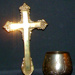 Communion standing cross and chalice; ART/ 4-5