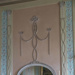 Oval Mirror in painted wooden frame; Thomas Chippendale the Elder; 28f