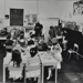 Children painting in playgroup; c.1970; LMA_4314_07_002_0001