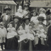 Women, children and babies outside Manor Gardens; c. 1915; LMA_4314_07_001_0005