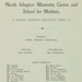 North Islington Maternity Centre and School for Mothers, Second Annual Report, 1916; 01/01/1916; LMA_4314_04_004