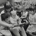 Children reading with nursery worker; c. 1970; LMA_4314_07_002_0006