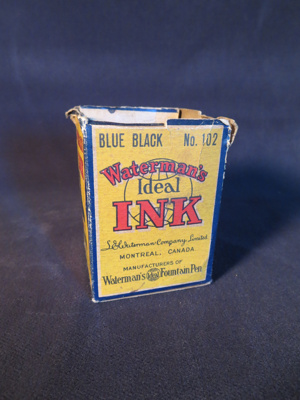 Waterman's Ideal Ink (Small); L.E Waterman Co. LTD; 014.0044.0001