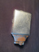 Silver Hued Cigarette Case; 014.0073.0001