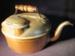 Golden-hued Metal Tea Kettle; 014.0174.0001