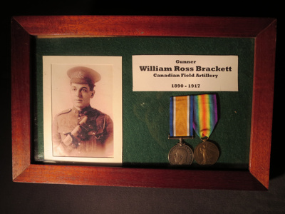 William Ross Brackett Commemorative Plaque; 014.0120.0001