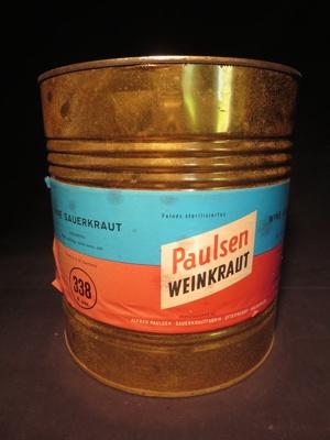 Paulsen Weinkraut Canister (Large); Alfred Paulsen; 014.0210.0001