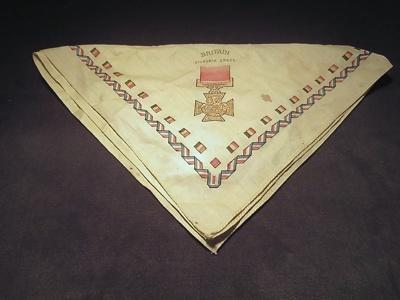 World War I Commemorative Handkerchief; 014.0127.0001