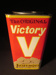 """Victory"" Lozenges Tin; The Victory Factories; 014.0205.0001"