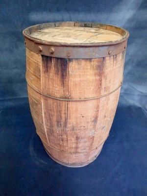 Wooden Keg; 014.0028.0001