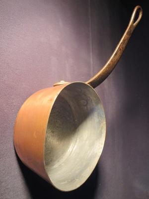 Copper Cooking Pot; 014.0171.0001