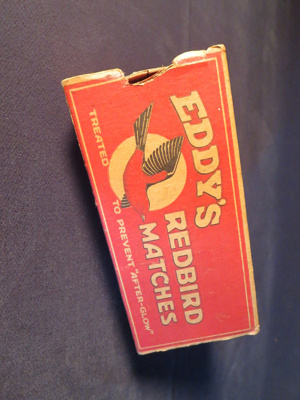 Eddy's Red Bird Matches (Large); Eddy Match Co. Limited; 014.0076.0001