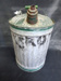 Green Galvanized Kerosene Can; 014.0025.0001