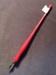 Red Straight Nib Pen; 014.0047.0001