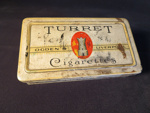 Turret Cigarettes (Tin); Ogden's; 014.0070.0001