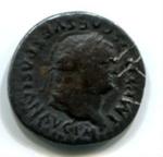 Silver Denarius, Roman; 79-81CE; Rome; AR1-15